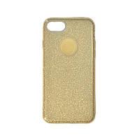 Чехол силиконовый Shine с усиленным бампером и цветной накладкой Apple iPhone 5, фото 1