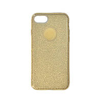 Чехол силиконовый Shine с усиленным бампером и цветной накладкой Apple iPhone 7