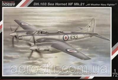De Havilland DH.103 Homet F.Mk.3/4 1/72 SPECIAL HOBBY 72054