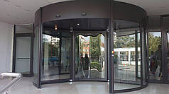 Автоматическая вращающаяся дверь ED500 Maxi