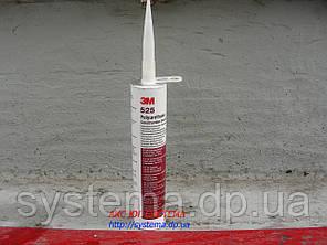 3M™ 525 - Полиуретановый строительный герметик для швов, белый, 310 мл, фото 2
