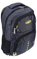 Ранец-рюкзак, 2 отд., 46*30*17 см, Double 840D PL,сер.,9759, SAF