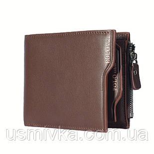 Кошелёк мужской Polo визитница коричневый 541951