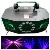 Световой LED-Laser прибор VS-10 DUAL HEADS LED LASER MOON EFFECT LIGHT