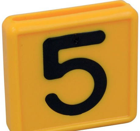 Цифра для идентификационного ошейника от 0 до 9, фото 2