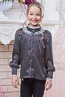 Школьная блузка для девочки Рост 122-134, фото 1