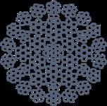 Канат стальной оц 18х7+6х7)/6х6+6х7+1х19+6+6/6) ТУ У 28.7-00191046-008-2003