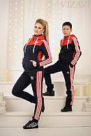 Спортивный теплый костюм женский Adidas
