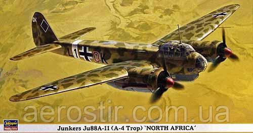 Junkers Ju88A-11 [A-4 Trop] 'North Africa' 1/72 HASEGAWA 00867