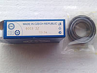 Подшипник ZKL 6003 2Z (17x35x10) однорядный