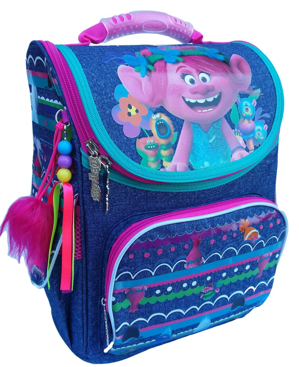553405 Каркасный рюкзак YES H-11 Trolls 34*26*14