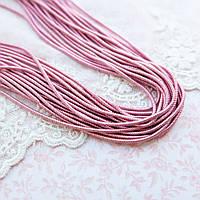 """Канитель спираль """"Холодный розовый"""" Индия, 1 мм - 10 г."""