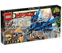LEGO Ninjago Самолёт-молния Джея 70614