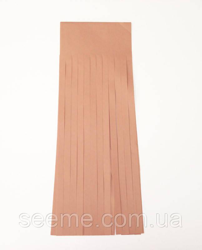 Бумажная гирлянда-кисточка из тишью «Terracota», набор из 5 шт.