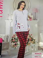 Жіночі піжами з интерлока., фото 1