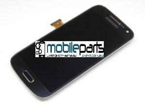 Оригинальный Дисплей (Модуль) + Сенсор (Тачскрин) для Samsung I9190 | I9192 | I9195 S4 mini Dark (С рамкой)