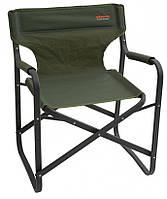 Легкое и удобное раскладное кресло Pinguin DIRECTOR CHAIR  из полиэстра, зеленое,  до 120 кг. PNG 620047