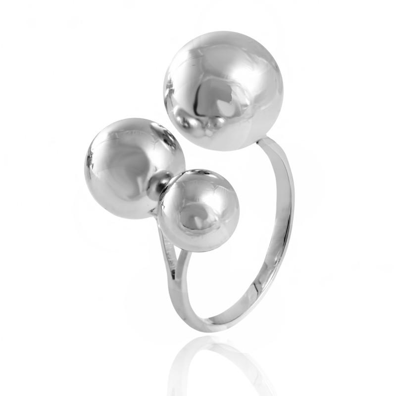"Серебряное кольцо без камней ""824"""