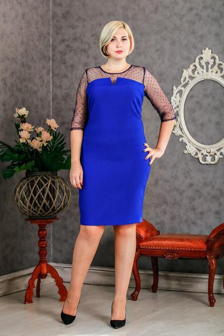 """Женское платье """"Альфа"""" размер 54,56"""