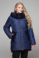 Куртка женская зимняя с пайетками №598 (р.52-54)
