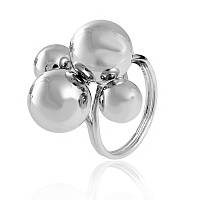 "Серебряное кольцо без камней ""825"""