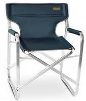 Легкое и удобное раскладное кресло Pinguin DIRECTOR CHAIR из полиэстра, синее, нагрузка до 120 кг. PNG 620061