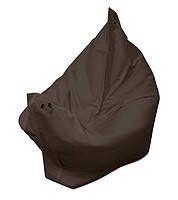 Черное кресло мешок подушка 120*140 см из ткани Оксфорд, кресло-мат