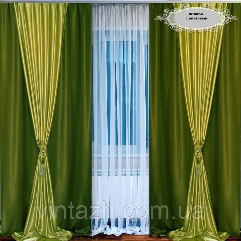 Готовые шторы и портьеры для зала 77