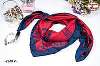 Брендовый шёлковый платок CHANEL (реплика)