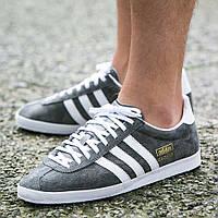 """Кеды Оригинал Adidas Originals Gazelle OG """"Grey"""" (S78874)"""
