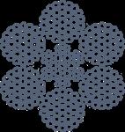 Металотрос оц конвейерных лент ТУ У 28.7-00191046-011-2003