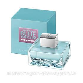 Женская туалетная вода Antonio Banderas Blue Seduction woman 100 ml Реплика