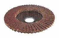 Круг лепестковый торцевой Дніпро-М P60 125 22,2 мм