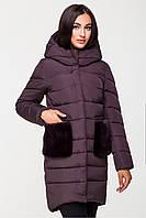 Куртка женская Kattaleya с меховыми карманами