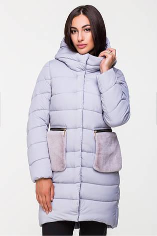 Куртка женская Kattaleya с меховыми карманами, фото 2