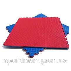 Татами Ласточкин хвост 20 мм (красно-синий)