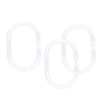 Кільця для шторок прозорі AWD02101326