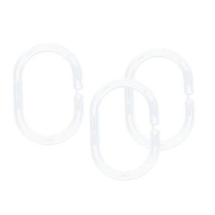 Кольца для шторок прозрачные AWD02101326