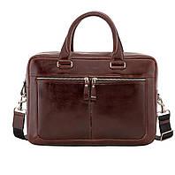 Деловая сумка Issa Hara B23 из натуральной гладкой кожи