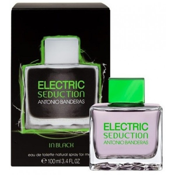 Мужская туалетная вода Antonio Banderas Electric Seduction In Black edt 100 ml реплика