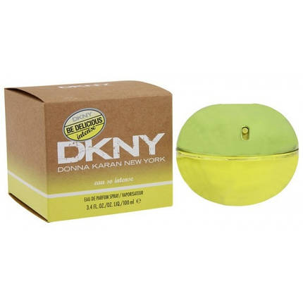 Женская парфюмированная вода DKNY Be Delicious Eau so Intense edp 100 ml реплика, фото 2