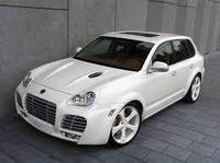 Аэродинамический комплект TechArt Magnum для Turbo версии Porsche Cayenne до 07 Евро версия (048.100.060.009)