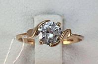 Кольцо золотое 585 проба, р. 18,5