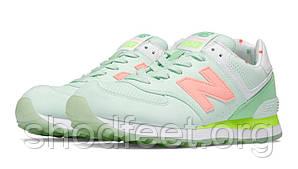 Женские кроссовки New Balance WL574BWC