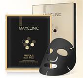 Маска тканевая, лифтинговая MAXCLINIC Propolis Black Mask