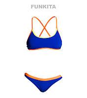 Женский раздельный купальник Funkita Surf Sunset FS39, фото 1