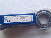 Однорядный подшипник ZKL 6205 2Z (25x52x15)