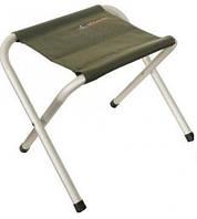 Легкий и прочный раскладной стул Pinguin JACK STOOL PETROL, алюминиевый, зеленый, нагрузка до 100 кг PNG 63906