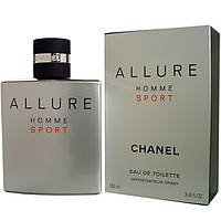 Мужская туалетная вода Chanel Allure Homme Sport edt 100ml TESTER