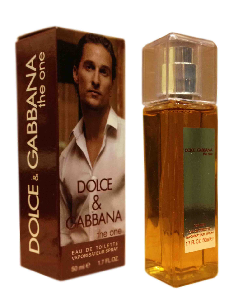 Dolce Gabbana The One pour Homme edt - Crystal Tube 50ml реплика